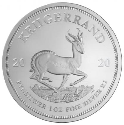 Krügerrand 1 oz Silber 2020