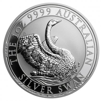 Schwan 1 oz Silber 2020