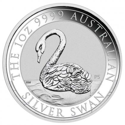 Schwan 1 oz Silber 2021