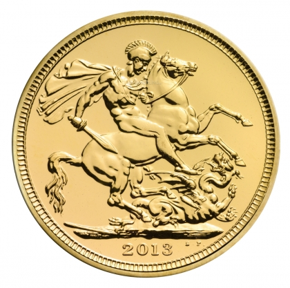 Gold Sovereign - divers