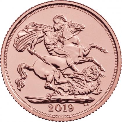 25 x Gold Sovereign 2019 Anlagepaket