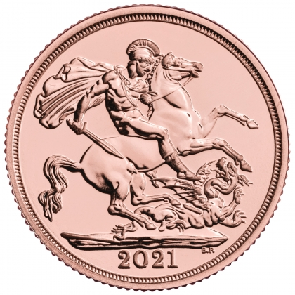 Gold Sovereign 2021