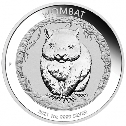 Wombat 1 oz Silber 2021