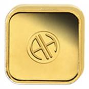 Goldbarren Argor-Heraeus 1 Gramm - Rückseite