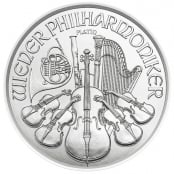 Philharmoniker 1/25 oz Platin 2020 - Motivseite