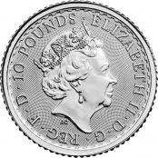 Britannia 1/10 oz Platin 2021 - Wertseite
