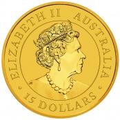 Kookaburra 1/10 oz Gold 2020 - Wertseite