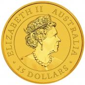 Kangaroo 1/10 oz Gold 2021 - Wertseite