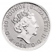 Britannia 1/10 oz Platin 2019 - Wertseite