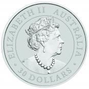Koala 1 kg Silber 2020 - Wertseite