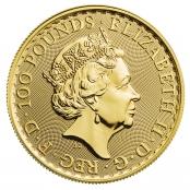 Britannia 1 oz Gold 2020 - Wertseite