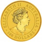 Kangaroo 1 oz Gold 2020 - Wertseite
