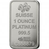 Platinbarren 1 oz PAMP Suisse - LBMA zertifiziert