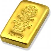 Goldbarren 250 Gramm Argor-Heraeus- 3D Ansicht