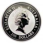 Koala 2 oz Platin - Wertseite