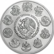 Libertad 5 oz Silber 2020 - Rückseite