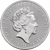Britannia 1 oz Platin 2021 - Wertseite