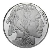 American Silver Buffalo 1 oz - Indianerkopf im Profil