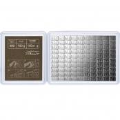 100 x 1 g Silber CombiBar Valcambi
