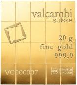 20 x 1 g Gold CombiBar Heraeus - Front