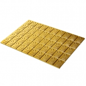 50 x 1 g Gold CombiBar Valcambi- Rückseite