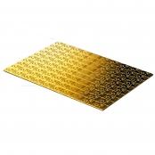 100 x 1 g Gold CombiBar Valcambi- Rückseite