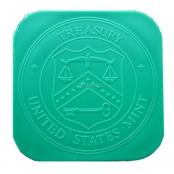 Münztube Silber Eagle - Logo US Mint