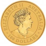 Emu 1 oz Gold 2019 - Wertseite