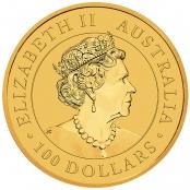 Emu 1 oz Gold 2020 - Wertseite