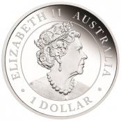 Emu 1 oz Silber 2019 Proof - Wertseite