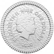 Eule von Athen 1/4 oz Silber 2020 - Wertseite