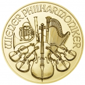 Philharmoniker 1/25 oz Gold - Motivseite