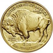 American Buffalo 1 oz Gold 2021 - Motivseite