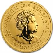 Schwan 1 oz Gold 2019 - Wertseite