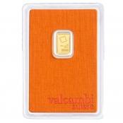 Goldbarren Valcambi 1 Gramm - Vorderseite Blister