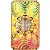 Goldbarren kinebar™ 20 Gramm Heraeus - Hologramm