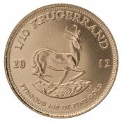 Krügerrand 1/10 oz Gold 2020 - Rüxckseite