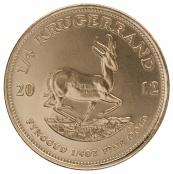 Krügerrand 1/4 oz Gold divers - Rückseite