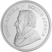 Krügerrand 1 oz Silber 2020 - Rückseite