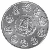 Libertad 1 oz Silber 2021 - Rückseite