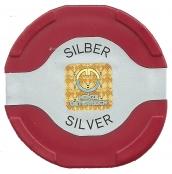 Münztube Silber Philharmoniker - Logo der Münze Österreich