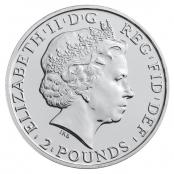 Lunar Schaf UK 1 oz Silber 2015 - Wertseite