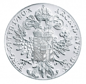 Maria Theresien Taler Proof - Rückseite
