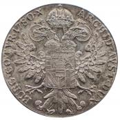 Maria Theresien Taler NP 1780 - Umlaufmünze . Rückseite