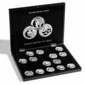Münzbox Silber Panda - 3d Anischt