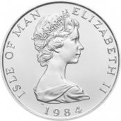 Noble 1 oz Platin - Wertseite der einmaligen Silbermünze der Perth Mint