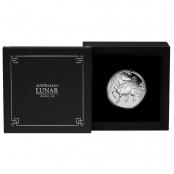 Lunar III - Ochse 1 oz Platin 2021 Proof - Wertseite