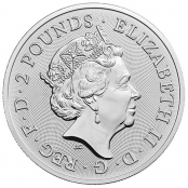Royal Arms 1 oz Silber 2019 - Wertseite