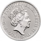 Royal Arms 1 oz Silber 2020 - Wertseite