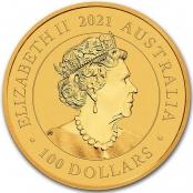 Schwan 1 oz Gold 2020 - Wertseite